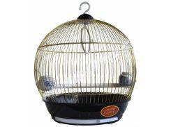 ЗК Клетка для птиц 308 Бочонок золото 390*420