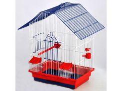 ЛОРИ Клетка для птиц Шанхай цинк 330*230*400