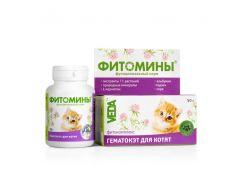 Фитомины ГематоКэт для котят 100таб
