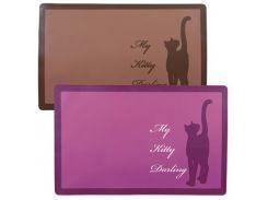 Trixie (Трикси) Коврик под миску для кошек My Kitti Darling 44*28см