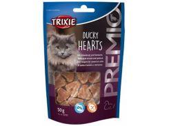 Trixie (Трикси) Лакомство сердечки Premio, утиная грудка минтай 50гр