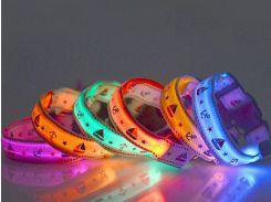 Trixie (Трикси) Ошейники светодиодные мигающие Микс S ширина 2,5см, длина 35-43см