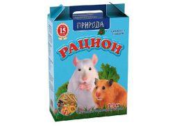 Сухой корм для мелких грызунов Рацион Сузирье 1,5кг