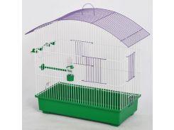 ЛОРИ Клетка для птиц Омега цинк 660*315*620