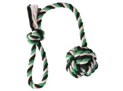 Trixie (Трикси) Игрушка для собак веревка с узлом, хлопок 7см*50см