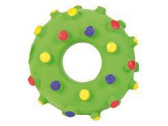 Trixie (Трикси) Игрушка для собак кольцо игольчатое, латекс 8см