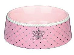 Trixie (Трикси) Миска керамическая для собак Dog Princess 180мл*12см