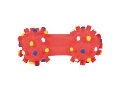 Trixie (Трикси) Игрушка для собак гантель игольчатая, латекс 10см