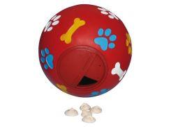 Trixie (Трикси) Игрушка для собак мяч для лакомств, пластик 11см