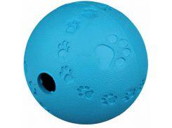 Trixie (Трикси) Игрушка для собак мяч для лакомств, каучук 7см