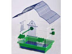 ЛОРИ Клетка для птиц Мальва цинк 330*230*450