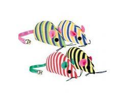 UniZoo (УНИ) Игрушка для кошек мышь обмотка шнуром 4,5см