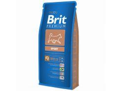 Brit (Брит) Полноценный корм для собак с повышенными физическими нагрузками Brit Premium Sport 15кг