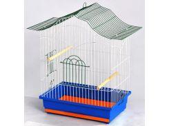 ЛОРИ Клетка для птиц Корелла цинк 470*300*620