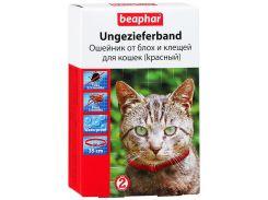 Beaphar (Беафар) Ошейник против блох для кошек Элегант 35см (красный)