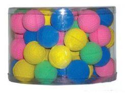 UniZoo (УНИ) Игрушка для кошек мяч зефирный для гольфа одноцветный 4,5см