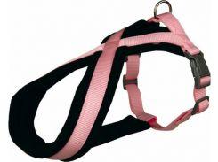 Trixie (Трикси) Шлея на подкладке розовая нейлоновая для собак Premium XS-S 30-40см*15мм