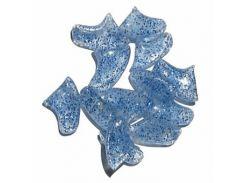 Колпачки с кристалами люминисцентные на когти для кошек L 6-8кг
