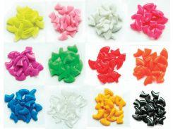 Колпачки цветные на когти для кошек S 2,5-4кг