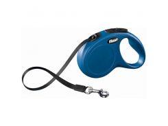 Flexi (Флекси) Рулетка синяя для собак Compact М2 25кг