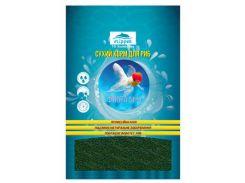 Корм для аквариумных рыб с растительными добавками Флора 1 гранулы 300гр*800мл (1-2мм)