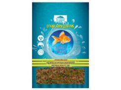 Корм для всех видов золотых рыб Золотая рыбка хлопья 140гр*800мл
