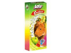 LoloPets (Лоло Петс) Колосок для морской свинки с яблоками 2шт