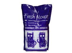 Fresh House (Фреш Хаус) Наполнитель силиконовый 3,6л*1,450кг