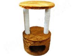 СИЗАЛЬ Когтеточка для кошек ДРП ДК 40*70 (коричневая)