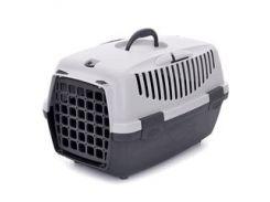 Переноска для собак StefanPlast Gulliver-1 до 6 кг 48*32*31 (серая)