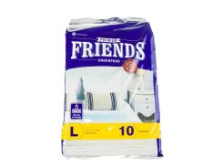 Пеленки для собак L Friends 60*90 (целюлоза и силикон)