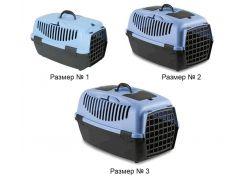 Переноска для собак StefanPlast Gulliver-1 до 6 кг 48*32*31 (цветная)