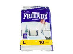Пеленки для собак M.Friends 60*60 (целлюлоза и силикон)