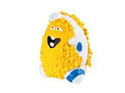 UniZoo (УНИ) Игрушка для собак желтый снежный человек, латекс 8см