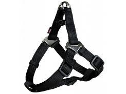 Trixie (Трикси) Шлея-петля для собак Premium нейлон S 40-50см*15мм (черная)