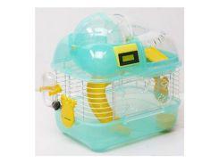ЗК Клетка для грызунов М02 эмаль со счетчиком 340*250*290