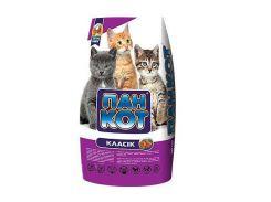 Пан-кот Сухой корм для кошек, классик 10кг