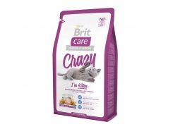 Brit (Брит) Сухой корм для котят Brit Care Cat Crazy Kitten 400гр