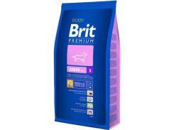 Brit (Брит) Полнорационный корм для щенков и молодых собак мелких пород, беременным и кормящим Brit Premium Junior S 8кг