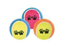 Trixie (Трикси) Игрушка для собак теннисный мяч с лапами 6см