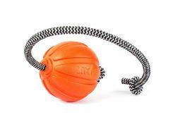 Collar (Колар) Игрушка для собак мячик Liker корд на шнуре 7см