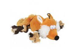 Trixie (Трикси) Игрушка для собак лиса с пищалкой, плюш 34см