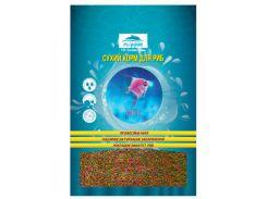 Корм для мелких видов рыб Микс гранулы 100гр*250мл