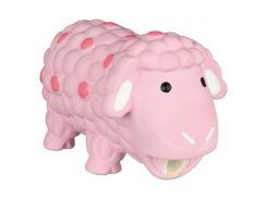 Trixie (Трикси) Игрушка для собак овечка розовая, латекс 14см