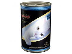 Leonardo (Леонардо) Консерва для котов, мясо рыба 400гр