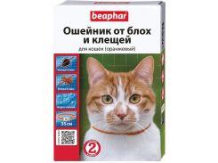 Beaphar (Беафар) Ошейник против блох и клещей для кошек оранжевый 35см