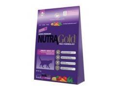 Nutra Gold (Нутра Голд) Сухой корм для привередливых кошек Finicky 1кг (фиолетовая)