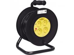 Удлинитель 4гн/50м катушка, з/к, термозащита, провод-3*1,5мм