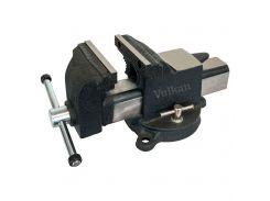 Тиски Vulkan MPV1-100 слесарные поворотные 100 мм