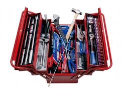 Набор инструментов KING TONY 132 ед. в металлическом ящике